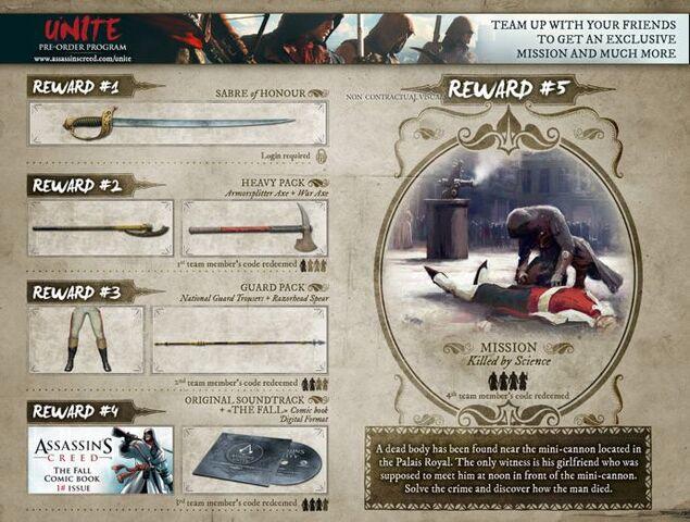 File:Assassin's Creed Unity UNITE Pre-Order Program.jpg