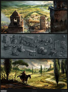 Assassin's Creed 2 Concept Art By Desmettre Page07
