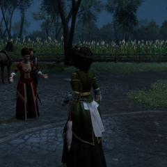 玛德琳告诉阿弗琳菲利普去世