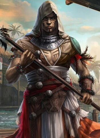 "Ah Tabai w <a href=""/wiki/Assassin%27s_Creed:_Memories"" title=""Assassin's Creed: Memories"">Assassin's Creed: Memories</a>"