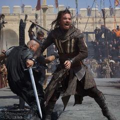Aguilar in combat