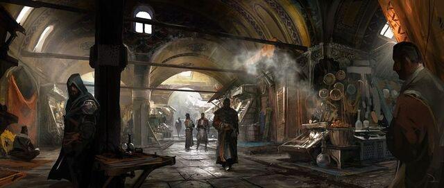 File:The Grand Bazaar in Istanbul ART.jpg