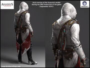 AC3 - Pre-Production Connor by Nicolas Collings 4