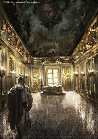 File:AC2 Palazzo Medici Treasure Room - Concept Art.jpg