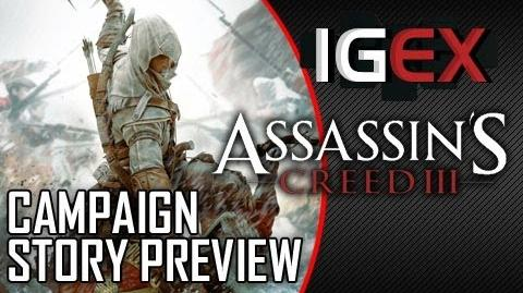 Assassin's Creed 3 Campaign Story Preview (Inside Gaming Extended)