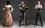 Laurent Sauvage Sample character work (allies) - Assassin's Creed II