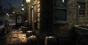 Boston alleyway concept by Gilles Beloeil