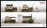 ACRG River Valley Sawmill - Concept Art
