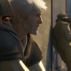 Shao Jun und Ezio in Embers