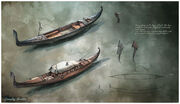 Gondola concept illustrations