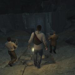 De Assassijnen bij de deur van de Tempel