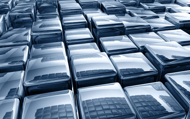 File:Silver Blue 3-D Cubes Digital Art.jpg