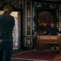 François leest Arno de les