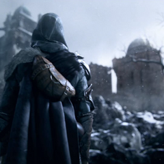 Ezio komt aan in Masyaf