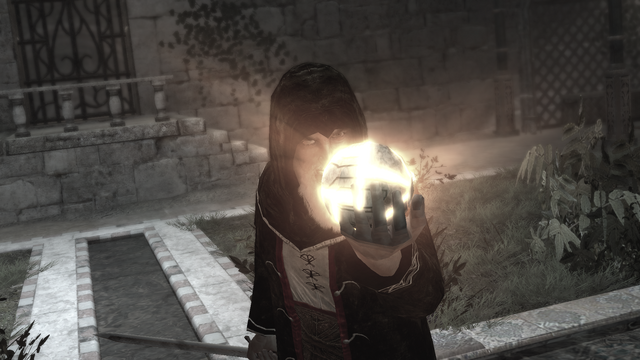 Datei:AssassinsCreed Al Mualim holding the Piece of Eden.png