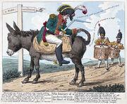 AE Napoleon's exile