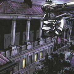 阿奎卢斯在吕迪努姆的房顶上自由奔跑