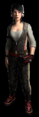 """Rebecca w <a href=""""/wiki/Assassin%27s_Creed:_Brotherhood"""" title=""""Assassin's Creed: Brotherhood"""">Assassin's Creed: Brotherhood</a>"""