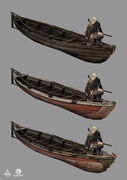 AC4 Whaling Boat - Concept Art