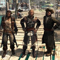 霍尼戈爾德、肯威和薩奇在鹽鍵灘