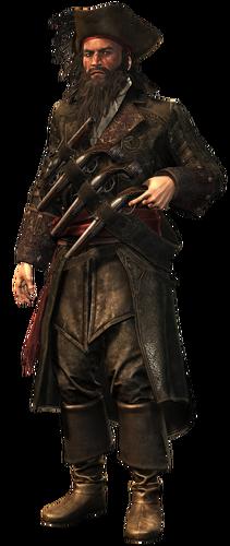 "Edward Thatch w <a href=""/wiki/Assassin%27s_Creed_IV:_Black_Flag"" title=""Assassin's Creed IV: Black Flag"">Assassin's Creed IV: Black Flag</a>"