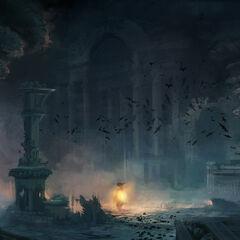 地下墓穴艺术设定