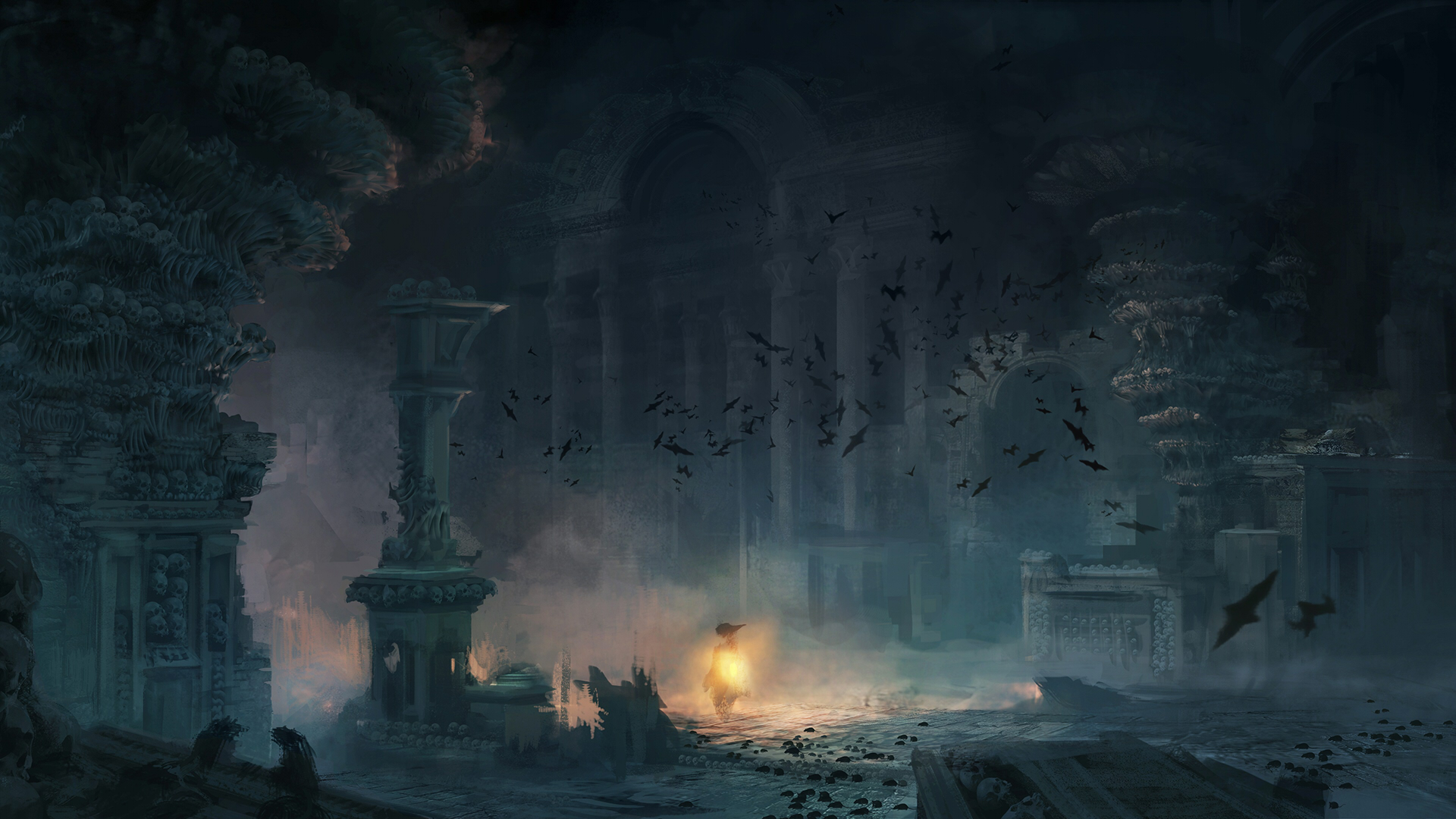 Image Acu Dk Catacombs Concept Jpg Assassin S Creed