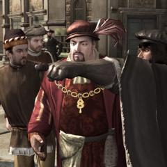 Francesco geeft <a href=