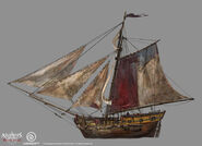 Assassin's Creed IV Black Flag - Ship concept design 4 by kobempire