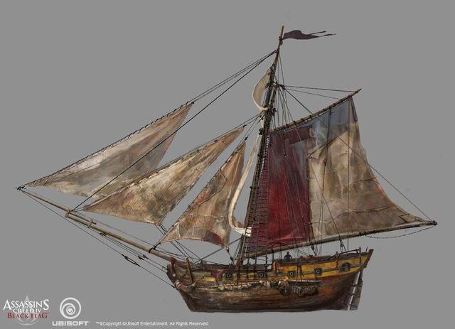 File:Assassin's Creed IV Black Flag - Ship concept design 4 by kobempire.jpg
