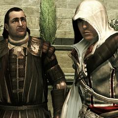 Ezio weigert Mario's aanbod.