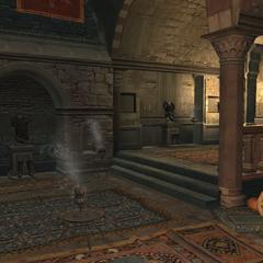 加拉塔藏身处的护甲室