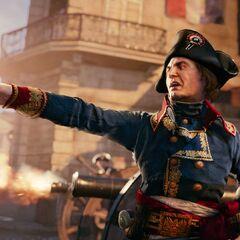 拿破仑指挥炮击
