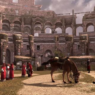 De kardinalen ontmoeten Cesare.