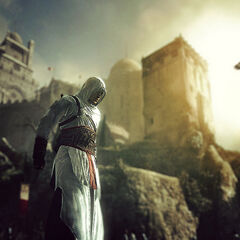 Altaïr at Masyaf