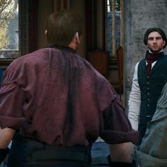 Victor beschuldigt Arno van diefstal