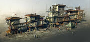 Assassin's creed Revelations shanty district by Omartin