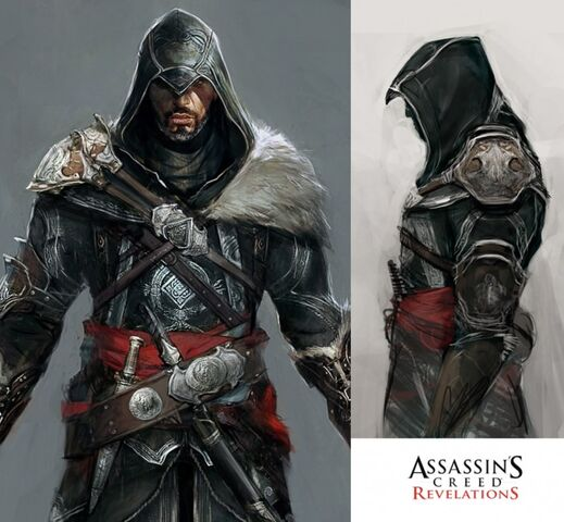 File:Ezio Auditore Concept by Jeff Simpson.jpg
