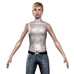 3D-render van Lucy.