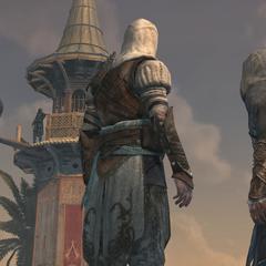 Ezio en Dogan bespreken de aanval