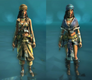 Warrior and Independent Costumes for Rebel
