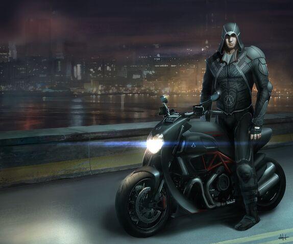 File:Desmond Assassin Concept plus Bike.jpg
