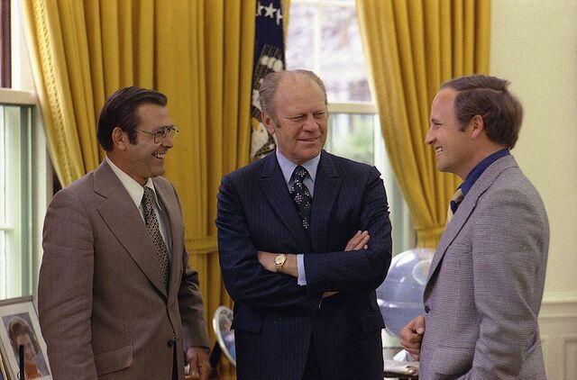 File:Rumsfeld, Ford and Dick.jpg