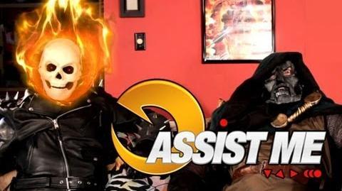 'ASSIST ME!' - Ghost Rider & Firebrand Ultimate Marvel vs Capcom 3 Live Action Tutorial