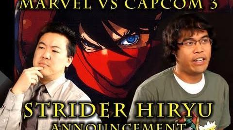 Marvel VS Capcom 3 Strider Hiryu PSA from James Chen, Clockw0rk & Dr