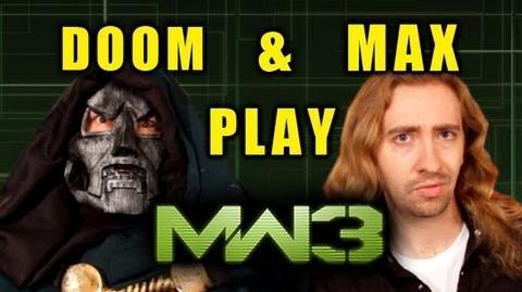Doom & Max Play MW3 Episode 1 'My Little Doom'