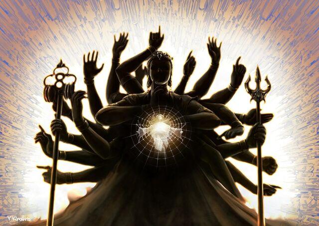 File:Asura's Wrath Chakravartin.jpg