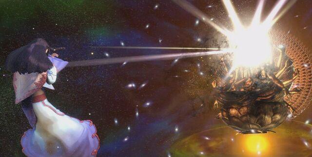 File:Asura's Wrath Golden Chakravartin Destruction.jpg
