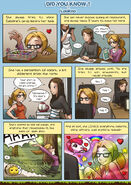 Comic strip about loukno by meli