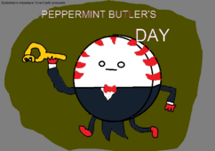 Peppermint Butler's Day Title Card